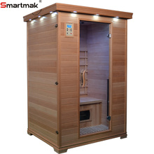 Full spectrum heater near infrared dry sauna