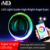 AES new brand RGB APP control angel eyes halo rings colorful auto parts car lighting system 2.5inch &3inch