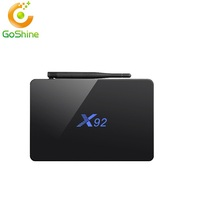 2017 new Amlogic s912 Android tv box x92 with Android 6.0 octa core 2G 16G install free play store app google