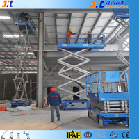 Strong Capacity Rental Use Self Propelled Scissor Lift 220V