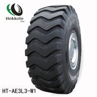 Hokollo HT-AE3L3-W1 OTR bias tire for heavy dump trucks scrapers loaders