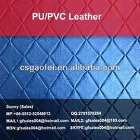 100% pu glitter waterproof synthetic leather