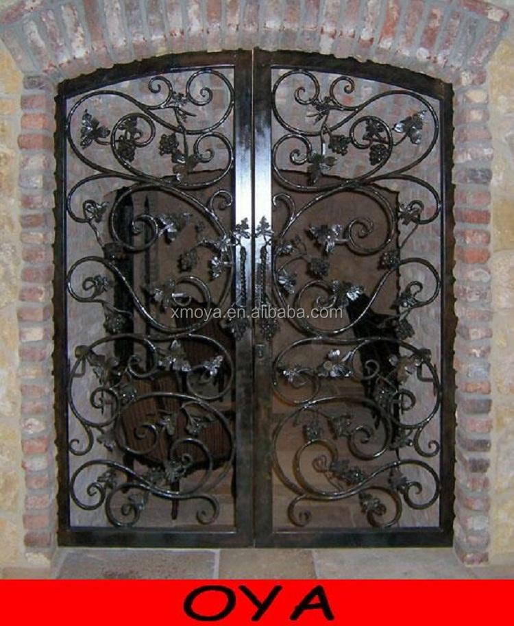 hermoso pintado rejas de hierro forjado diseo de bodega puerta buy product on alibabacom