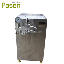 Stainless steel food homogenizer for honey / milk homogenizer price