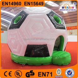 Colorful newly designed promotional inflatable soccer bounce house