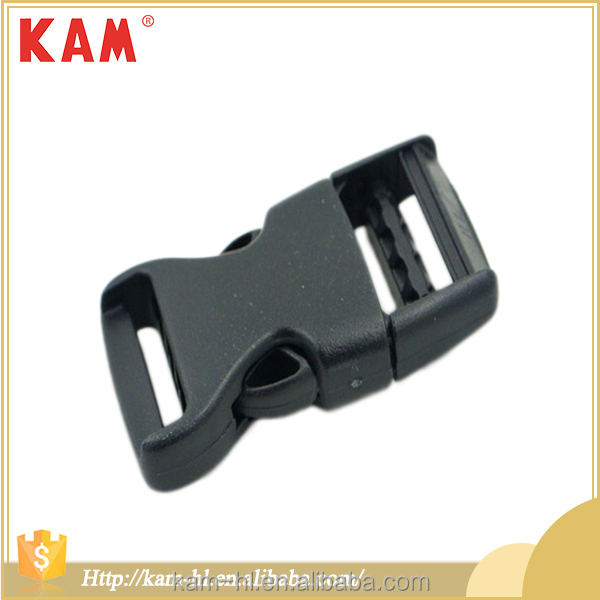 Wholesale adjustable quick side release plastic buckles for backpacks