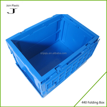 Strong foldable tool box and folding container for industrial