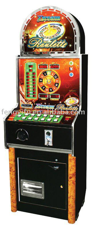 Coin operated roulette, game machine, slot game