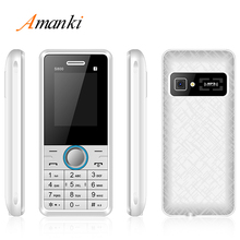 New! Amanki Factory High OEM Quality China Suppliers Mobile Phone es 1.77 inch GSM Feature Bar Cell Phone