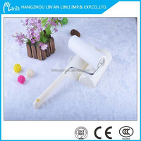 Manual Style and Clothes Usage sticky lint roller/3remover and 1 handle lint roller
