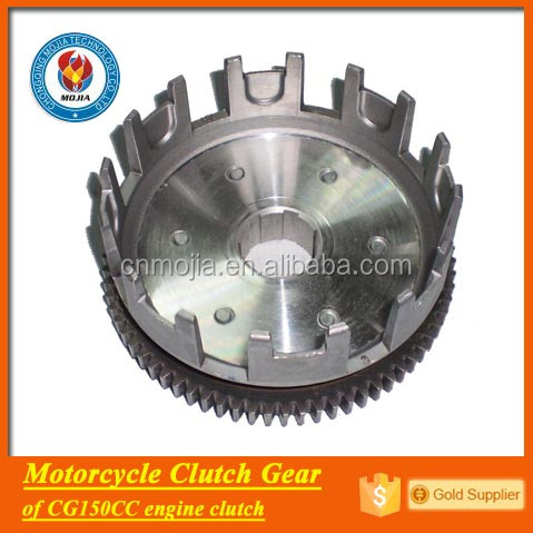 CG150 motorcycle engine parts driving gear clutch cover