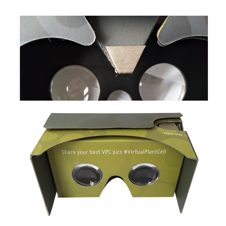March Expo 10% Off Customized Printed Google Cardboard VR Cardboard For Smartphone