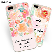 UV custom 5.5inch mobile printed phone case for iphone7plus phonecase for iphone 7 3d UV printing case TPU for samsung s7 cases