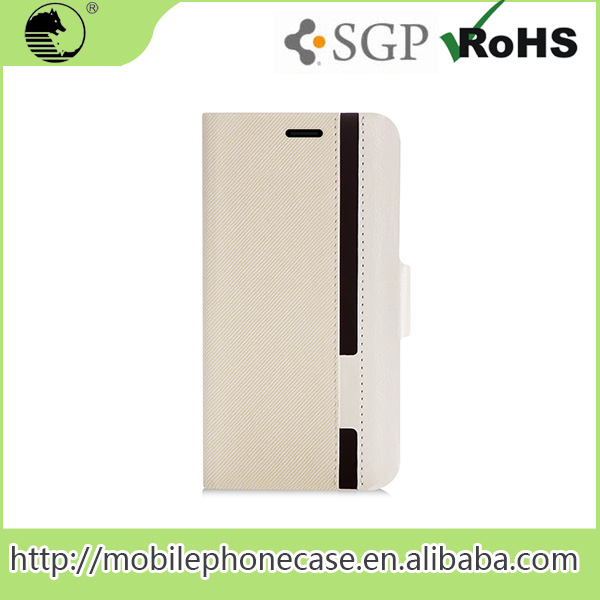 Newest Flip PU Leather Mobile Phone Case for Huawei G8 with Card Slot