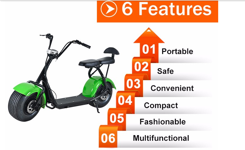 Leadway 2018 big wheel citycoco 60v 20ah lithium battery for electric scooter