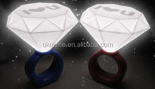 Promotional Led finger ring /led ring light with low price for gift