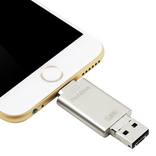 Newest otg usb flash drive free sample promotion usb flash drive u disk memory for iphone,android,laptop
