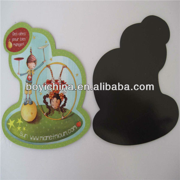 2014 Hot sales fashion paper funny fridge magnet,Custom printing die cut paper magnet