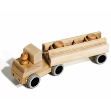 Wooden toys train locomotive educational for kids 2018