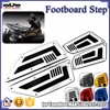 BJ-FOS-YA001 Silver Front and Rear Foot Boards Motorcycles Floorboards for Yamaha TMAX T Max 530