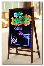 magnetic transparent led Drawing Board For decoration/notic/children use Led Drawing board