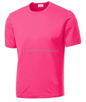 custom high quality plain Sport dry fit jersey High Visibility Athletic T-Shirts XS-4XL,,Neon Yellow,Neon orange,neon pink