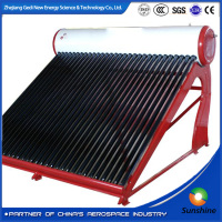 Evacuated Tube Type and Indirect / Closed Loop (Active) Circulation Type heat pipe vacuum tube solar water heater