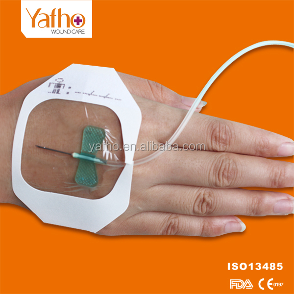 Waterproof Adhesive Transparent Semi-permeable medical wound dressing film dressing