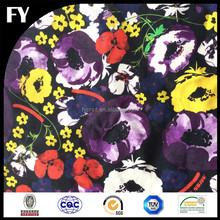 Factory custom design high quality digital printing cotton canvas fabric for tablecloth