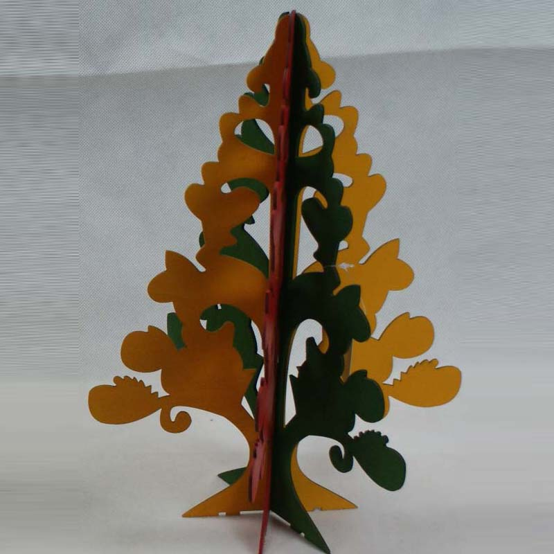 Customized shape upside down christmas tree