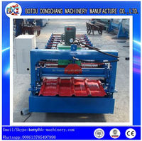 840 Type Steel Tile Metal Roof Roll Forming Machine with Taiwan Delta or Siemens PLC and HMI