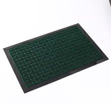 Recycled Fireproof Non Slip Green Rubber Floor Door Mat