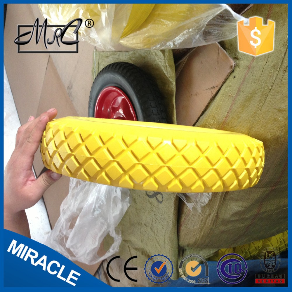 alibaba express colourful solid wheel 4.80/4.00-8 plastic wheels for sand