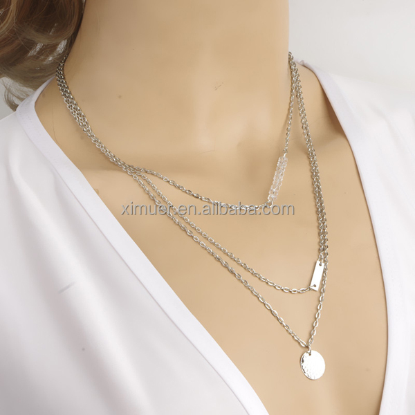2015 Western women popular simple elegant necklace