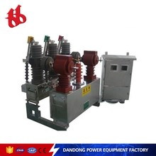Quality-assured metering type circuit breaker for 12 KV outdoor substation