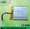 High Quality GEB604955 3.7v 1600mah rechargeable battery for wireless security system