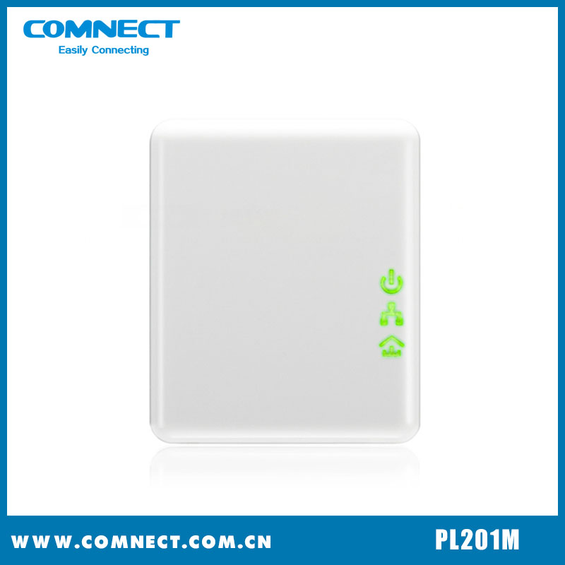 Hot sellng Wallmount Powerline Network Adapter with good quality