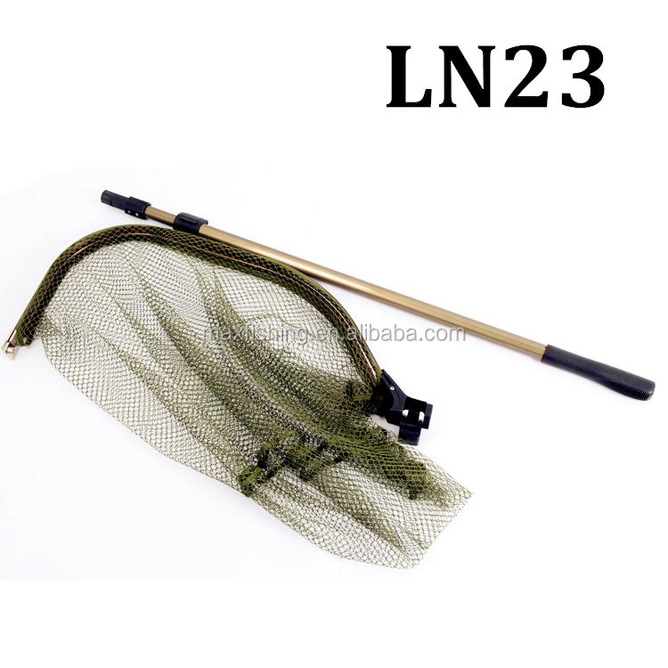 Long handle fishingtelescopic landing net view landing for Long handle fishing net