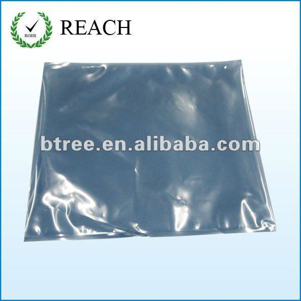 Silver Aluminum Plastic Bags for Packaging Electronic Components