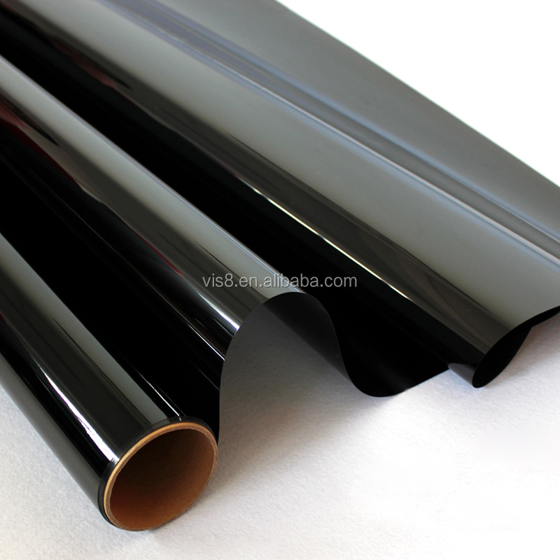 Car window stickers explosion solar films insulation film Black economic applicable safety door car glass film+free sample