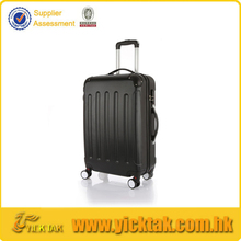 Black Color Streamline Polycarbonate Trolley Luggage