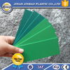 2015 new home products lightweight pvc foam sheet green color