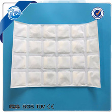 2 ply disposable fabrice ice gel pack sheet for frozen food meat fish delivery