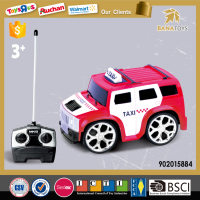 4CH RC electric taxi car toy for boy