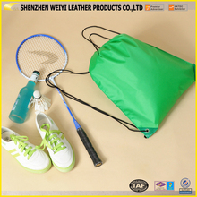Drawstring Bag Nylon Folding Backpack Home Travel Sport Storage