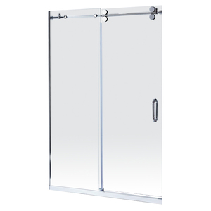 America Barn door #304 stainless steel custom-made size shower door