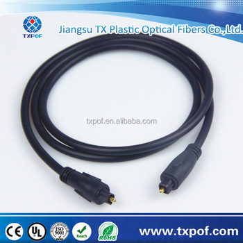Digital optical fiber audio cable Toslink fiber cable OD4.0MM