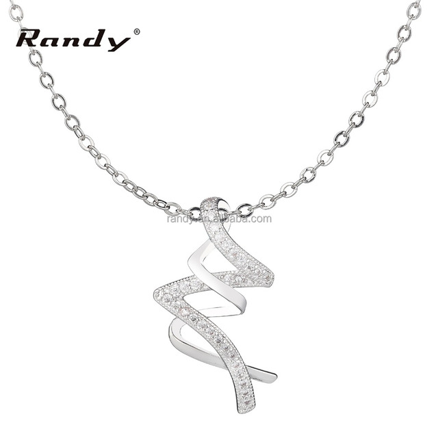 Necklaces Sterling Silver Jewelry Women Fashion Jewelry 2017 Korean