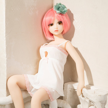 Factory direct sell mini real japanese anime full silicone 65cm sex doll