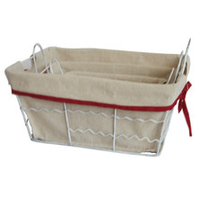 metal wire basket wire mesh basket storage bin